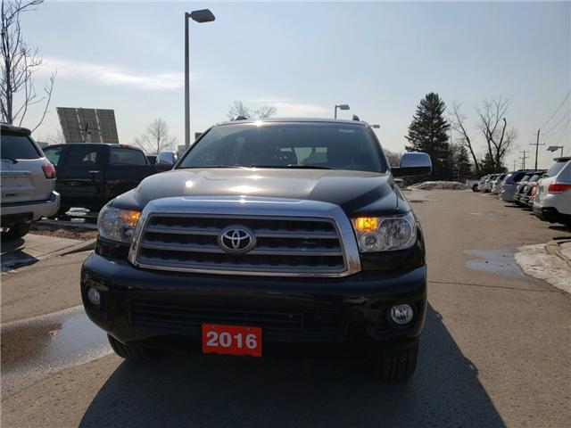 2016 Toyota Sequoia Platinum 5.7L V8 (Stk: P1713) in Whitchurch-Stouffville - Image 1 of 7