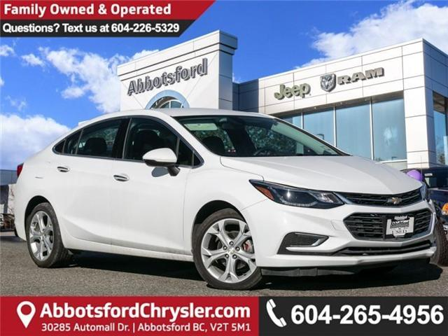 2018 Chevrolet Cruze Premier Auto (Stk: AB0753) in Abbotsford - Image 1 of 23