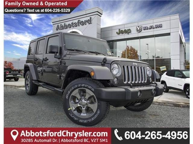 2018 Jeep Wrangler JK Unlimited Sahara (Stk: AG0743B) in Abbotsford - Image 1 of 23