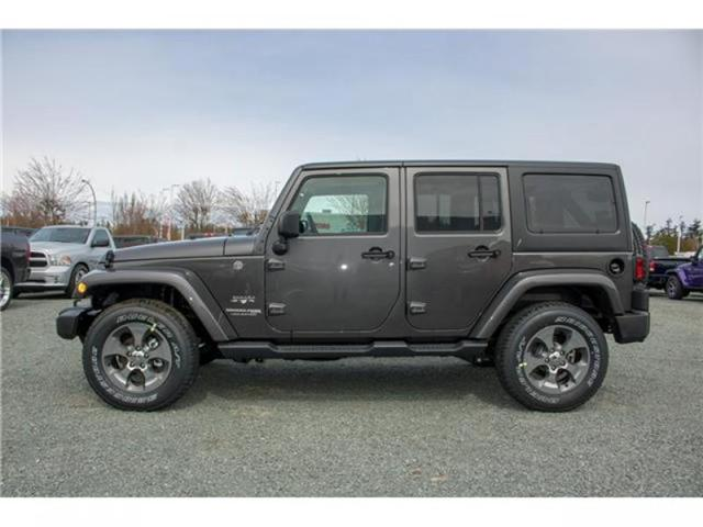 2018 Jeep Wrangler JK Unlimited Sahara (Stk: AG0743B) in Abbotsford - Image 4 of 23