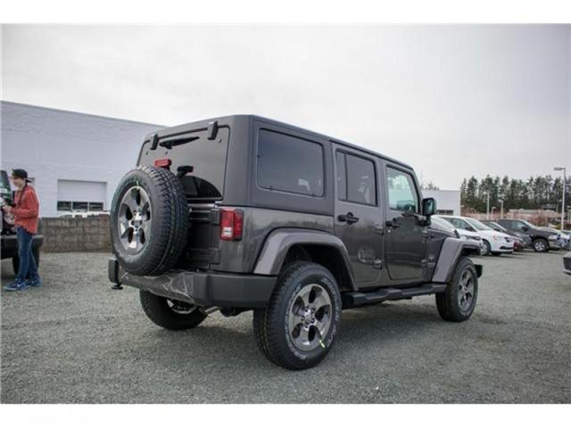 2018 Jeep Wrangler JK Unlimited Sahara (Stk: AG0743B) in Abbotsford - Image 7 of 23