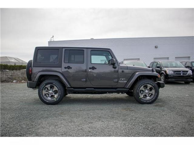 2018 Jeep Wrangler JK Unlimited Sahara (Stk: AG0743B) in Abbotsford - Image 8 of 23