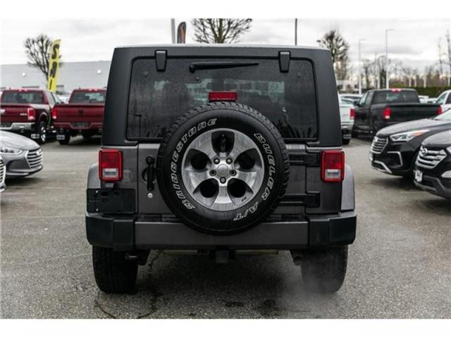 2016 Jeep Wrangler Sahara (Stk: K540602A) in Abbotsford - Image 6 of 16