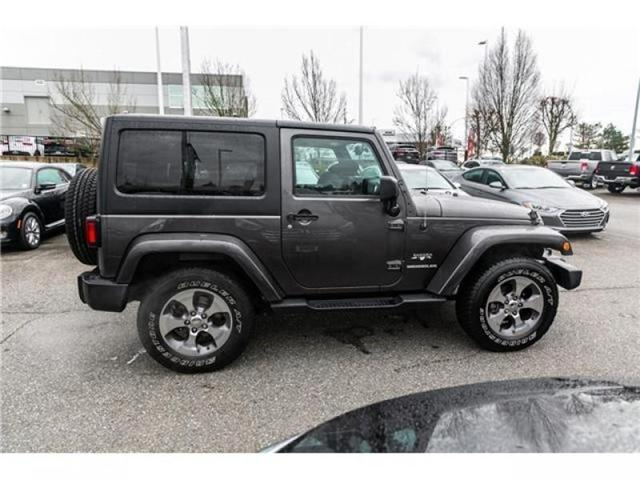 2016 Jeep Wrangler Sahara (Stk: K540602A) in Abbotsford - Image 8 of 16