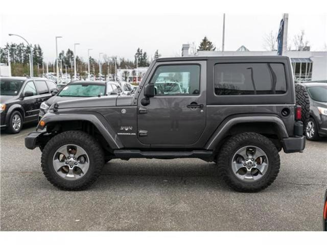 2016 Jeep Wrangler Sahara (Stk: AG0904A) in Abbotsford - Image 4 of 19