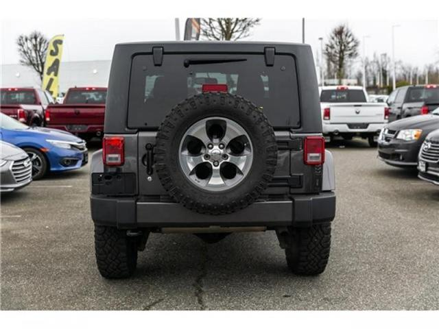 2016 Jeep Wrangler Sahara (Stk: AG0904A) in Abbotsford - Image 6 of 19