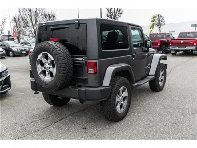 2016 Jeep Wrangler Sahara (Stk: AG0904A) in Abbotsford - Image 7 of 19