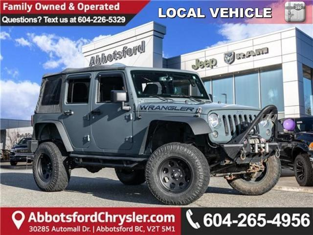 2014 Jeep Wrangler Unlimited Sport (Stk: AB0750AA) in Abbotsford - Image 1 of 21