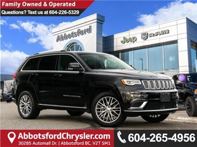 2018 Jeep Grand Cherokee Summit (Stk: AG0912A) in Abbotsford - Image 1 of 24