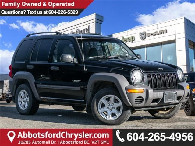 2004 Jeep Liberty Sport (Stk: JH52673A) in Abbotsford - Image 1 of 23