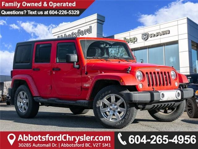 2015 Jeep Wrangler Unlimited Sahara (Stk: K565309A) in Abbotsford - Image 1 of 23