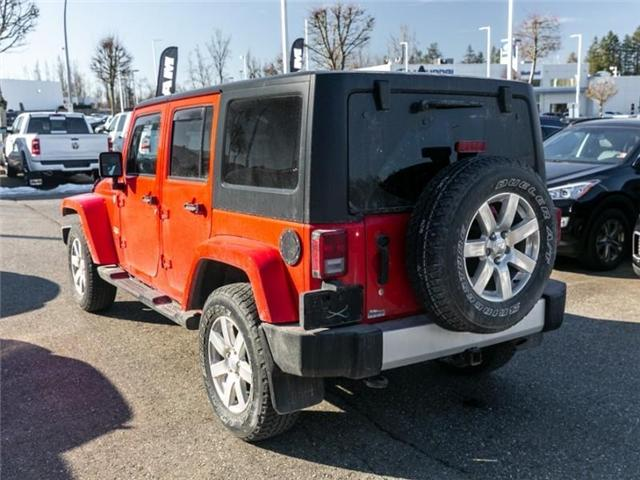 2015 Jeep Wrangler Unlimited Sahara (Stk: K565309A) in Abbotsford - Image 5 of 23
