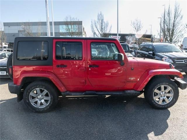 2015 Jeep Wrangler Unlimited Sahara (Stk: K565309A) in Abbotsford - Image 8 of 23