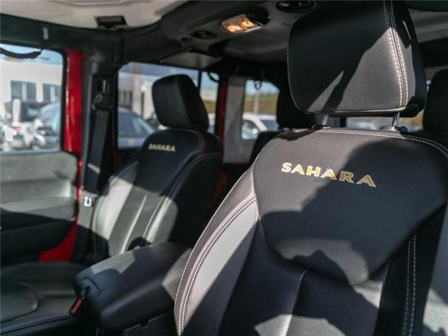 2015 Jeep Wrangler Unlimited Sahara (Stk: K565309A) in Abbotsford - Image 17 of 23