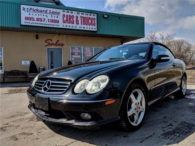 2004 Mercedes-Benz CLK-Class Base (Stk: ) in Bolton - Image 1 of 22