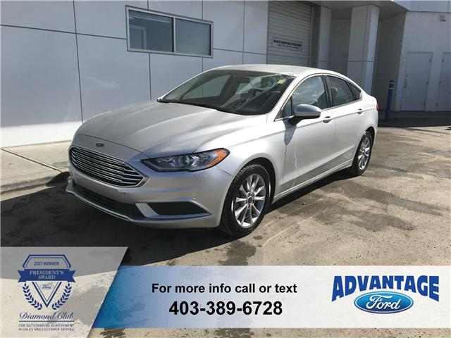 2017 Ford Fusion S (Stk: K-680A) in Calgary - Image 1 of 18