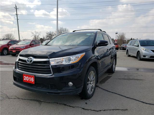 2016 Toyota Highlander XLE (Stk: P1722) in Whitchurch-Stouffville - Image 1 of 3