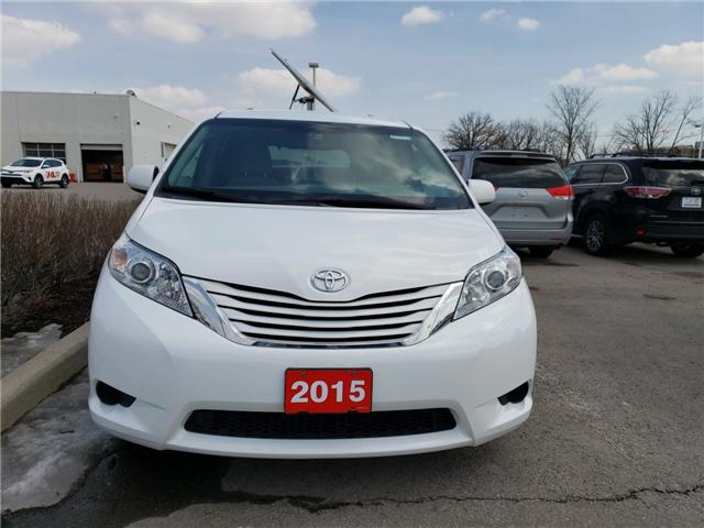 2015 Toyota Sienna LE 8 Passenger (Stk: P1721) in Whitchurch-Stouffville - Image 1 of 3