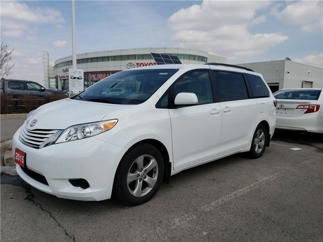 2015 Toyota Sienna LE 8 Passenger (Stk: P1721) in Whitchurch-Stouffville - Image 2 of 3