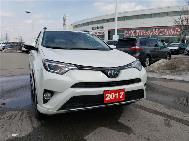 2017 Toyota RAV4 Limited (Stk: P1697) in Whitchurch-Stouffville - Image 1 of 6