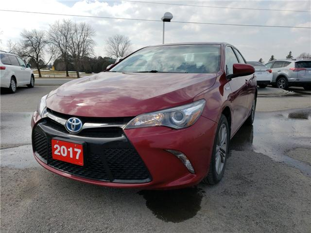2017 Toyota Camry Hybrid SE (Stk: 181066A) in Whitchurch-Stouffville - Image 1 of 6