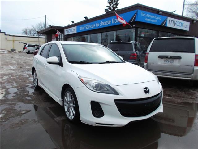 2012 Mazda Mazda3 GT (Stk: 190280) in North Bay - Image 1 of 14