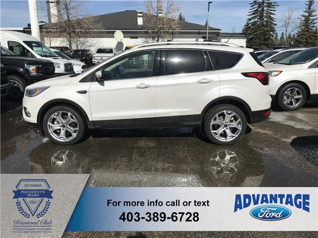 2019 Ford Escape Titanium (Stk: K-892) in Calgary - Image 2 of 6