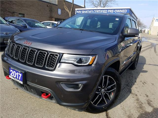 2017 Jeep Grand Cherokee Trailhawk (Stk: OP10243) in Mississauga - Image 1 of 25