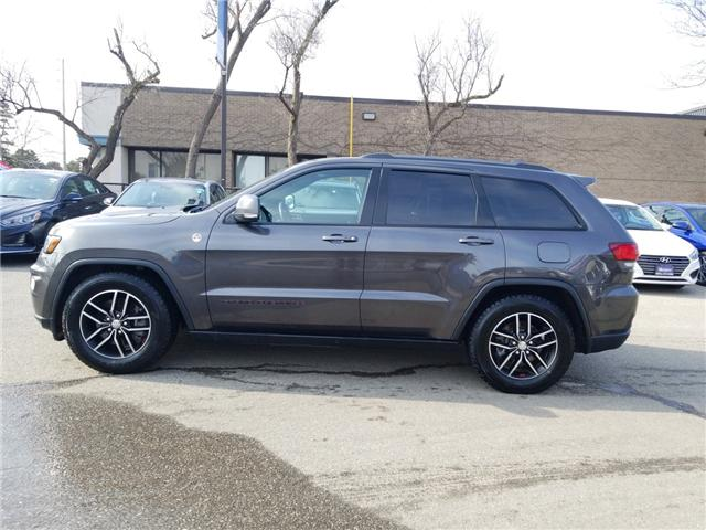 2017 Jeep Grand Cherokee Trailhawk (Stk: OP10243) in Mississauga - Image 8 of 25