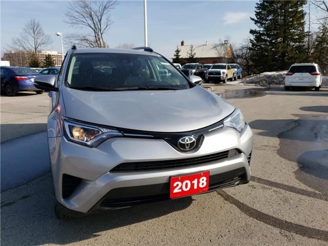 2018 Toyota RAV4 LE (Stk: P1730) in Whitchurch-Stouffville - Image 1 of 6