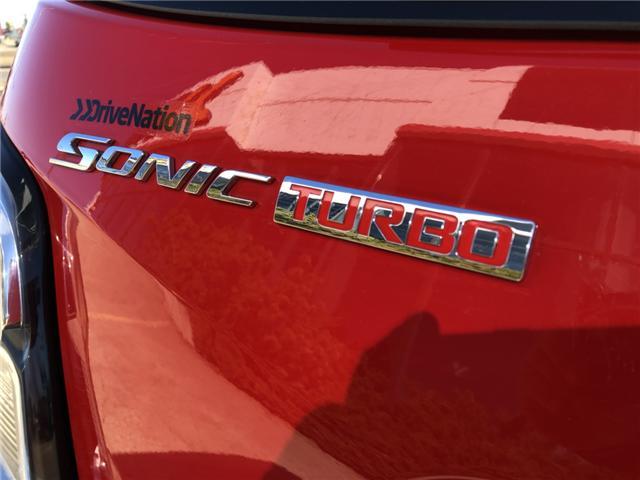 2017 Chevrolet Sonic LT Auto (Stk: WE225) in Edmonton - Image 7 of 20