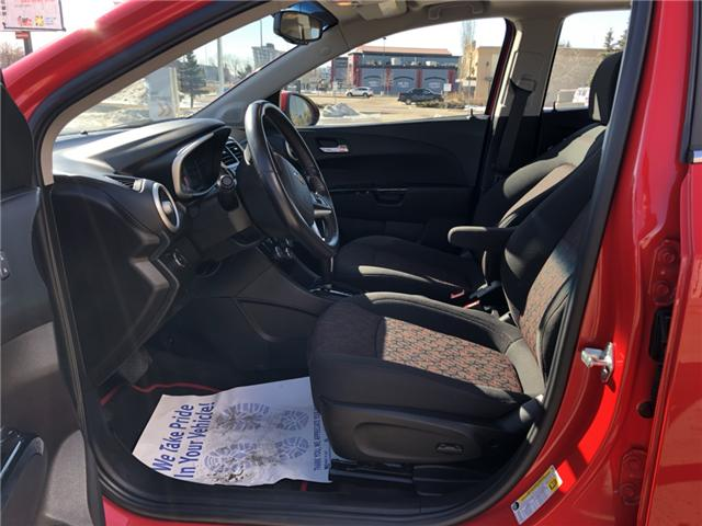 2017 Chevrolet Sonic LT Auto (Stk: WE225) in Edmonton - Image 13 of 20