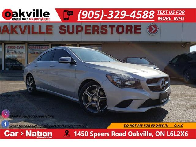 2016 Mercedes-Benz CLA-Class 250 4MATIC | LEATHER | BLUETOOTH | PADDLE SHIFT (Stk: P11922) in Oakville - Image 1 of 20