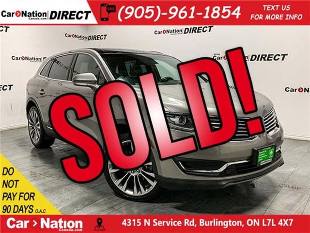 2016 Lincoln MKX Reserve (Stk: CN5565) in Burlington - Image 1 of 30