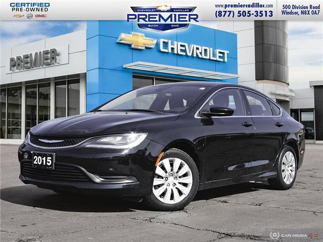 2015 Chrysler 200 LX (Stk: 191221A) in Windsor - Image 1 of 27