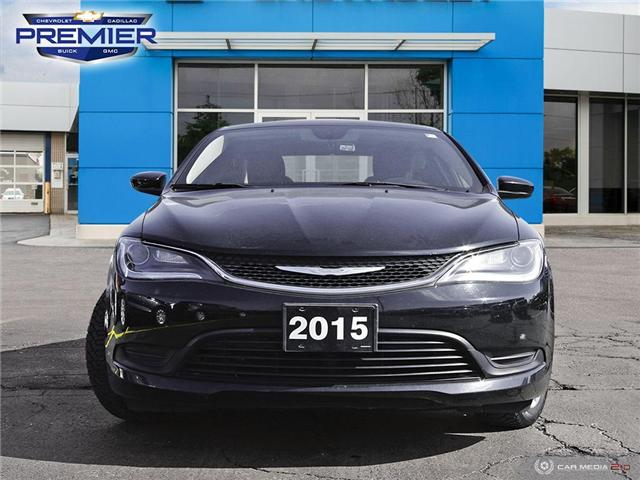 2015 Chrysler 200 LX (Stk: 191221A) in Windsor - Image 2 of 27