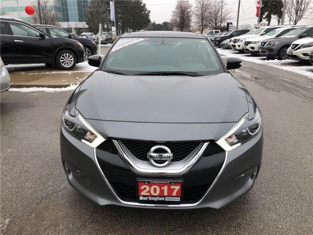 2017 Nissan Maxima SL (Stk: X3121A) in Burlington - Image 8 of 21