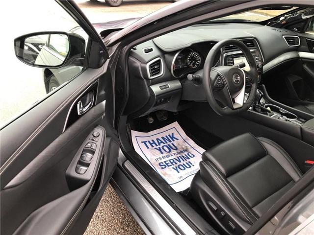 2017 Nissan Maxima SL (Stk: X3121A) in Burlington - Image 11 of 21