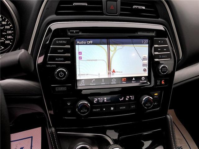 2017 Nissan Maxima SL (Stk: X3121A) in Burlington - Image 16 of 21