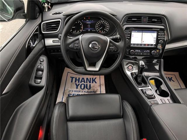 2017 Nissan Maxima SL (Stk: X3121A) in Burlington - Image 20 of 21