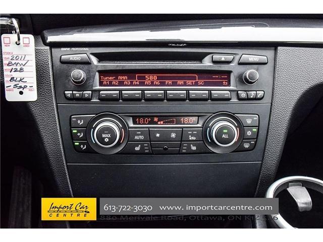 2011 BMW 128i  (Stk: M54346) in Ottawa - Image 18 of 30