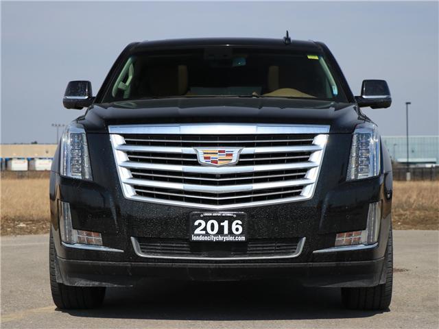 2016 Cadillac Escalade ESV Platinum (Stk: U8588) in London - Image 2 of 30