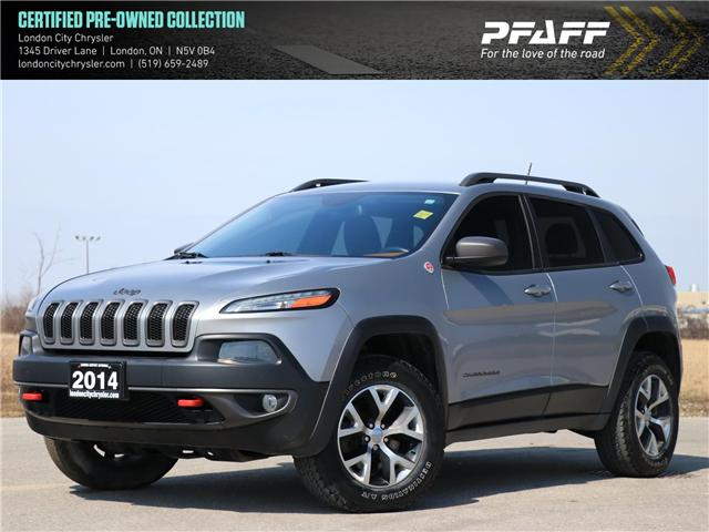 2014 Jeep Cherokee Trailhawk (Stk: 9174A) in London - Image 1 of 25