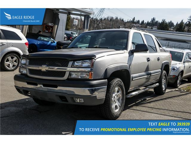 2004 Chevrolet Avalanche 1500 Base (Stk: 048454) in Coquitlam - Image 1 of 5
