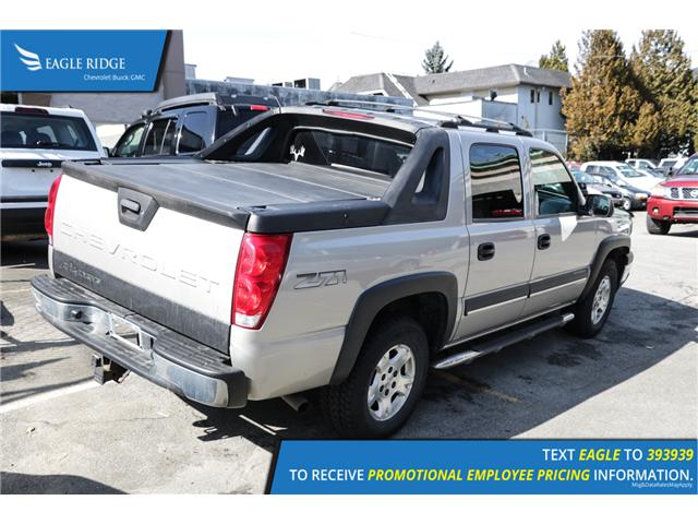 2004 Chevrolet Avalanche 1500 Base (Stk: 048454) in Coquitlam - Image 2 of 5