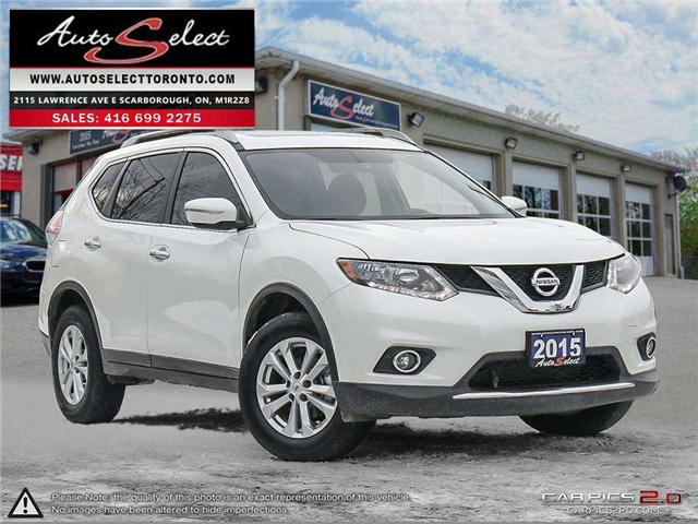 2015 Nissan Rogue AWD (Stk: 15NRQ821) in Scarborough - Image 1 of 28