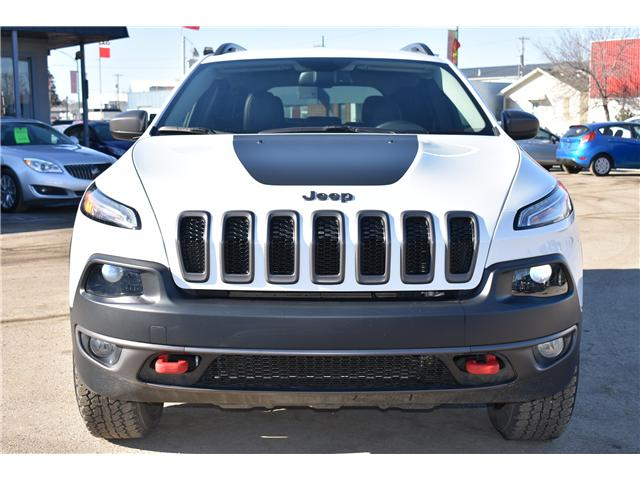 2017 Jeep Cherokee Trailhawk (Stk: P36285) in Saskatoon - Image 2 of 28