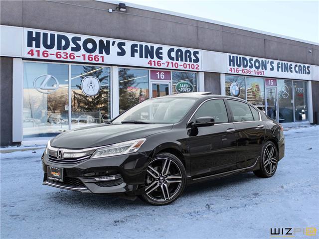 2017 Honda Accord Sport (Stk: 09405) in Toronto - Image 1 of 30