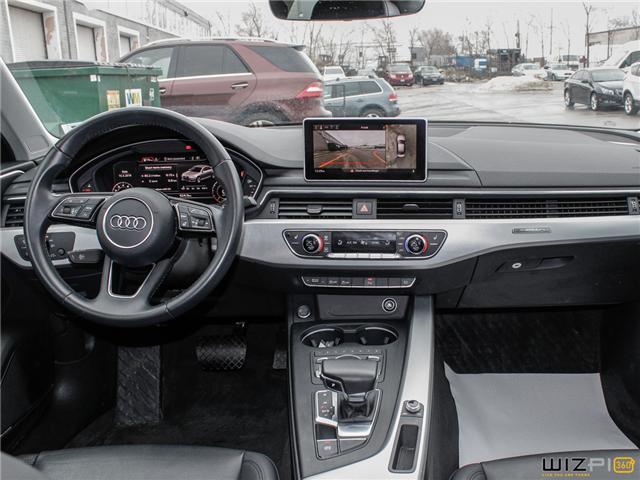 2017 Audi A4 2.0T Technik (Stk: 40476) in Toronto - Image 18 of 30