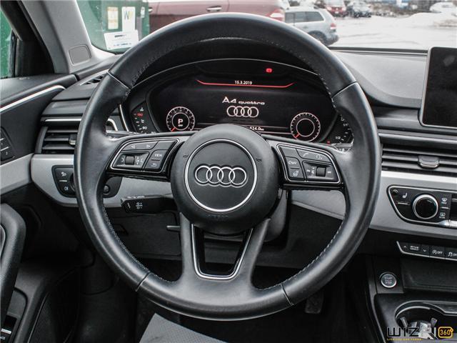 2017 Audi A4 2.0T Technik (Stk: 40476) in Toronto - Image 19 of 30